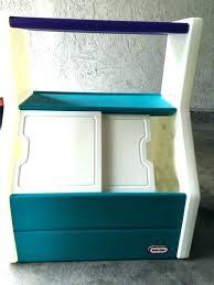 little toy box with bookshelf bookcase book shelf baby kids wood plans organizer or