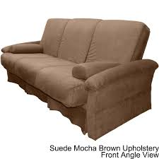 chair futon. covered pillow-top mattress and futon or chair sleeper set - free shipping today overstock.com 15558791