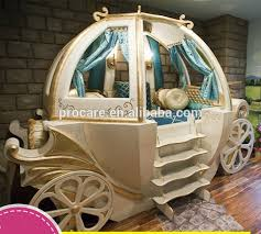 Solid Wood Furniture Princess Carriage Bed For Kids - Buy Princess Carriage  Bed,Carriage Bed,Carriage Bed For Kids Product on Alibaba.com