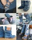 Новая жизнь из старых джинсов своими руками