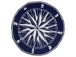 trans ocean rugs frontporch compass navy area rug