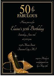 50th Birthday Invitations Templates Awesome 50th Birthday Party Invitation Templates Gallery