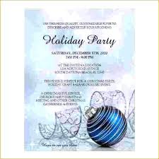 Free Invitation Templates For Word Holiday Party Hol – Apptality