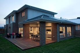 Undercover Deck Designs Extended Decking Around The Alfresco Provides A Space For