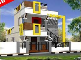 30x40 north facing house plan with pooja room for individual house front elevation