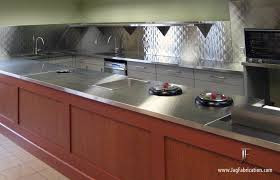 Metal Fabrication Project Gallery – Vancouver Metal Fabricators ... & Stainless Counters & Quilted Backsplash - Diner Adamdwight.com