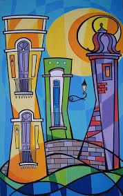 puerto rico painting san juan alegre 1 by mary tere perez