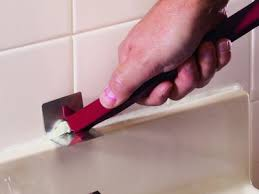 easy techniques for removing old caulk from your bathtub or sink