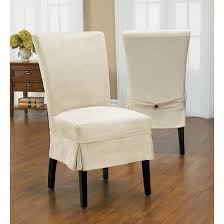 duck mid pleat relaxed fit dining chair slipcover with ons overstock ping the best deals on chair slipcovers