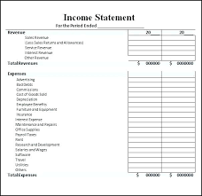 Income And Expense Template Excel Income Expense Template Church Statement Expenses Spreadsheet