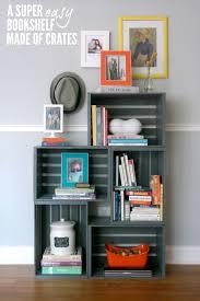 crate shelves diy