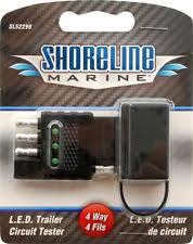 trailer light tester ebay Portable Trailer Lights Wiring 4 flat trailer light circuit wiring tester in line led trouble shooter sl52298 4 Pin Trailer Wiring Diagram
