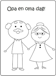 Opa En Oma Dag Oma En Opa Grandparents Day Preschool