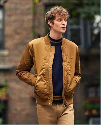 camel gets sporty with this lacoste padded er jacket reuniting with east dane matthew