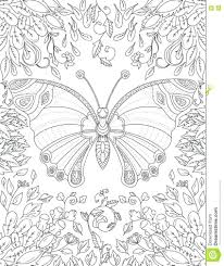 Tremendous Butterfly Coloring Pages Adults Image Inspirations For