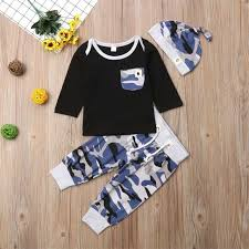 Online Shop Pudcoco New Casual <b>Boy</b> Clothes Carters Newborn ...