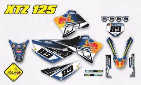 Yamaha Xtz 125 Decals Design Kit Adesivo Yamaha Xtz 125 Com Capa De Banco Gravity X