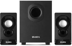 Купить <b>Колонки SVEN MS-85</b>, 2.1, черный в интернет-магазине ...
