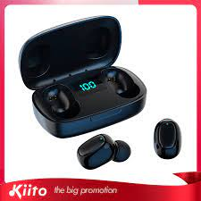 AWEI E14 kablosuz kulaklıklar TWS Bluetooth 5.0 kulaklık Bluetooth kulaklık  Led ekran 300mAh Mic ile spor su geçirmez kulaklık|Bluetooth Earphones &  Headphones