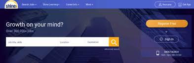Shine Job Posting Best Job Portals Job Sites In India 2018 Theindiajobs Com