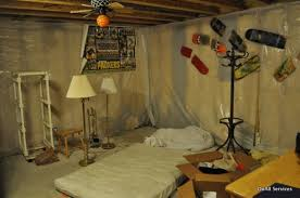 unfinished basement bedroom. Unique Bedroom Unfinished Basement Bedroom Appealing Throughout N