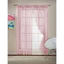 Your Zone Glitz Girls Bedroom Curtains Walmart
