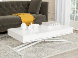 white coffee tables. White Lacquer Coffee Table With Storage Tables B