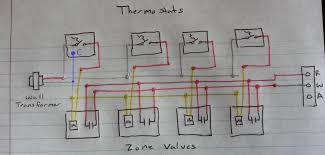 honeywell zone control wiring diagram gooddy org 24vac transformer wiring diagram at 24 Volt Control Wiring