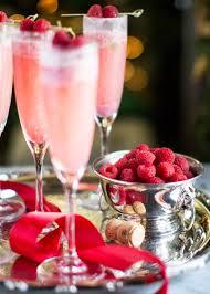 Aesthetic Holiday Raspberry Cream Mimosas The Stiers Aesthetic