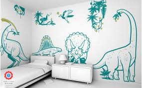 dinosaur wall decals for kid s playroom