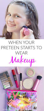 when your starts to wear makeup this post has awesome makeup tips for s great suggestion on makeup for young s