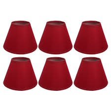 clip on candleampshade red chandelieramp shades small ceiling ruby earrings dark miniighting