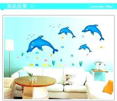 sea life wall art dolphin wall decals sea creature wall decals plus blue sea dolphin sea on large metal dolphin wall art with sea life wall art dolphin wall decals sea creature wall decals plus