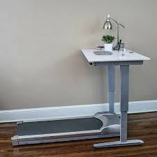 a portable treadmill desk that is stylish and attractive