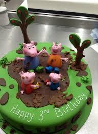 Peppa Pig Muddy Puddles Truly Scrumptious Designer Cakes Scotland