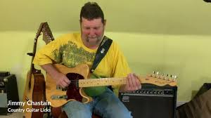 Jimmy Chastain - Country Guitar Licks - Lick in A - Part 1 - YouTube