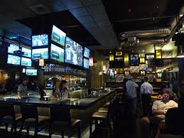 Best View  So Many Screens  Upscalse Sports Pub  Pinterest Sport Bar Design Ideas