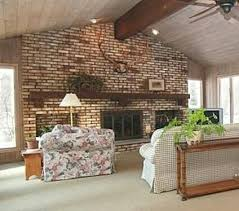 i need advice for updating a very large brick fireplace wall makeover11 brick