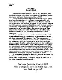 my story love is blind gcse english marked by teachers com page 1 zoom in