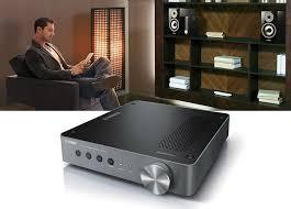 yamaha wxa 50. yamaha wxa-50 amplifier and wxc-50 preamplifier bring musiccast wireless streaming to existing speakers audio equipment wxa 50 a