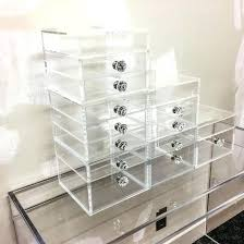 acrylic organizer cutie cube stack acrylic makeup organizer acrylic drawer organizer msia acrylic makeup organizer