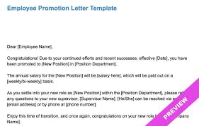 Template Promotion Letter Images - Template Design Ideas