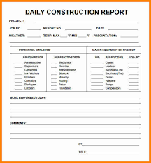 project weekly report format construction daily progress report format status template xls unique