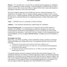how to write argumentative essay education photo sample factual   writing an argumentative essay samples of argumentative essay writing classical argument unit assignment page