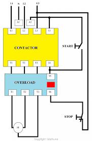 wrg 1887 motor starter wiring diagram pdf three phase dol starter wiring diagram enthusiast diagrams