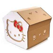 Cat House Hello Kitty Cat House Cutest Cat Cave Ever For Curious Kitties