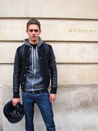 leather look mens jackets leather jacket over a simple hoo is a perfect fall look mens