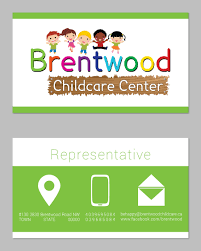 Entry 68 By Gabifrench For Business Card Child Care