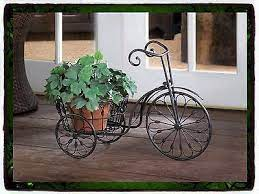 plant stands metal bicycle garden