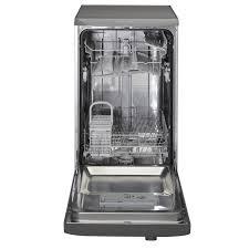 Small Dish Washer Hotpoint Sial11010g 45cm Aquarius Slimline Dishwasher In Graphite